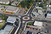 Main and Century Roundabout, Waunakee, WI