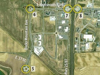 Rocky Mountain Ave Roundabouts Corridor, Loveland Colorado