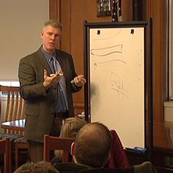 Mark Johnson at Vermont Workshop