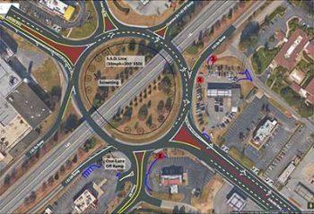 hearon circle spartanburg roundabout
