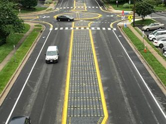 FHWA Modular Mini-Roundabout Pilot Program