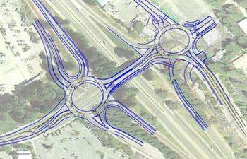 Golden Center Freeway / McKnight Way Interchange, Grass Valley, CA